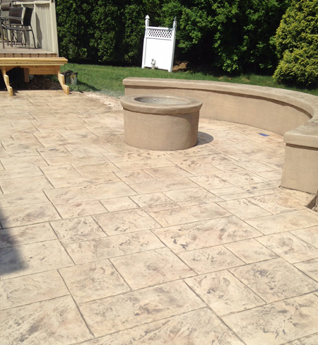 Marty Stofanak's Decorative Concrete Designs Inc Lehigh Valley Classy Decorative Concrete Designs